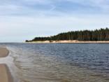 Ragakāpas dabas parks un Lielupes ieteka jūrā