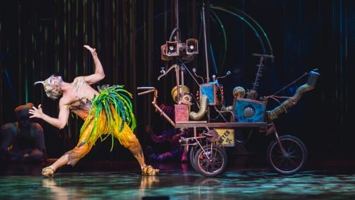 Cirque du Soleil вернулся в Ригу с шоу Varekai