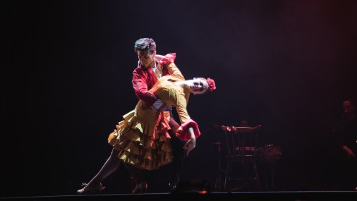 """Koncertzālē """"Lielais dzintars"""" flamenko uzvedums no Spānijas"""