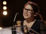 """""""Zelta lāču"""" pasniegšana Berlīnes kinofestivāla noslēgumā"""