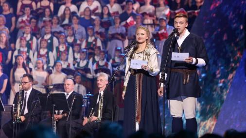 """3. Eiropas koru olimpiādes un """"Nāciju Grand Prix Rīga 2017"""" noslēguma koncerts ''Arēnā Rīga''"""