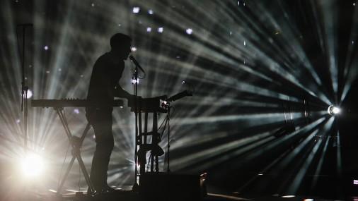 Тысячи людей посетили концерт Prāta vētra в Лиепае