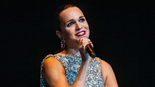 Певица Слава выступила в Доме Конгрессов