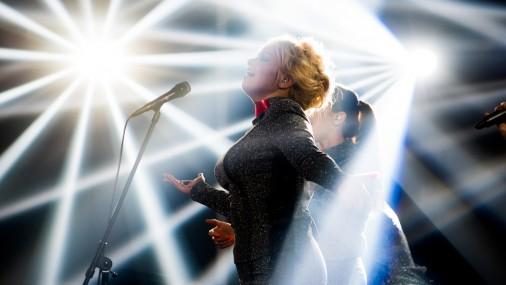 Линда Лин выступила в концертном зале Palladium