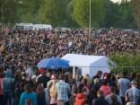 """Тысячи рижан и гостей столицы посетили концерт """"Би-2"""" на Луцавсале"""
