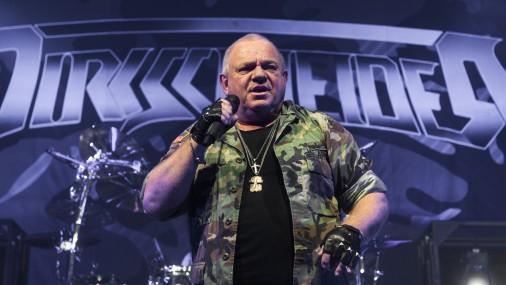"""Udo Dirkšneidera un grupas """"Raven"""" uzstāšanās koncertzālē """"Palladium"""""""