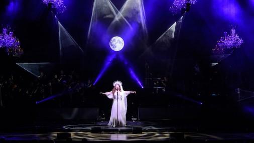 Sāras Braitmenas karaliskā Ziemassvētku koncertturneja