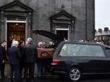 Īrijā notiek atvadīšanās no «The Cranberries» solistes O'Riordanas