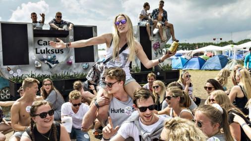 Sācies Roskildes mūzikas festivāls Dānijā