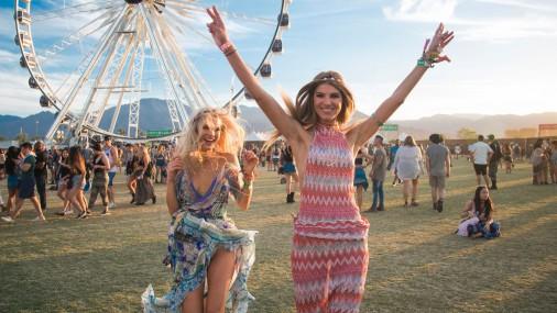 """Mūzikas festivāls """"Coachella"""" Kalifornijā"""