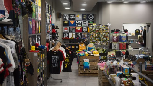 """Mūzikas veikala """"Randoms"""" jaunās telpas Vaļņu ielā"""
