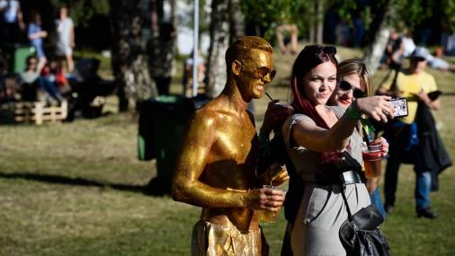 В Салацгриве продолжается фестиваль Positivus 2017