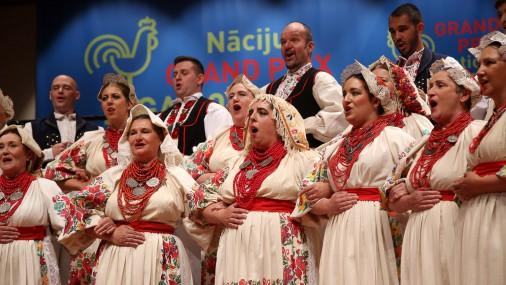"""Nāciju Grand Prix Rīga 2017"" folkloras a cappella konkurss"