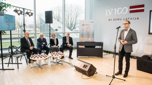 """Latvijas mūzikas vēstures digitālā projekta """"Izdziedam100.lv"""" prezentācijas pasākums"""