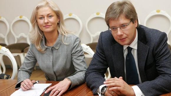 Нил Ушаков и Ивета Страутиня