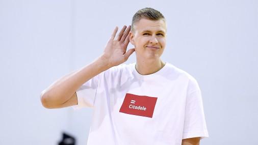 Звезда баскетбола Кристапс Порзингис
