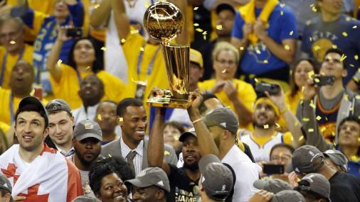 Клуб «Голден Стэйт Уорриорз» стал чемпионом НБА