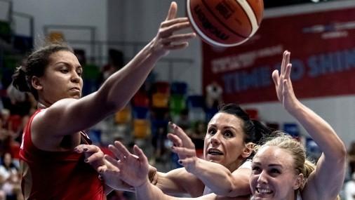 Женская сборная Латвии стартовала на Евробаскете с поражения от России