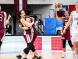 Latvijas basketbolistes iekļūst EČ ceturtdaļfinālā