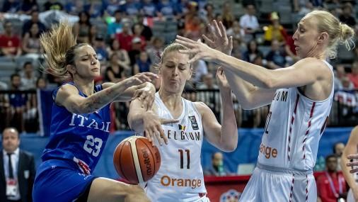 Баскетболистки Бельгии впервые дошли до полуфинала чемпионата Европы