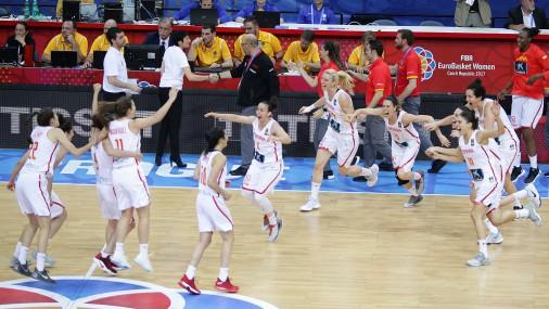 Триумф испанских баскетболисток на чемпионате Европы