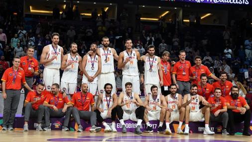 """""""EuroBasket 2017"""" bronzas spēle: Spānija - Krievija"""
