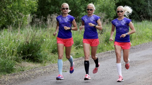 Эстонские тройняшки