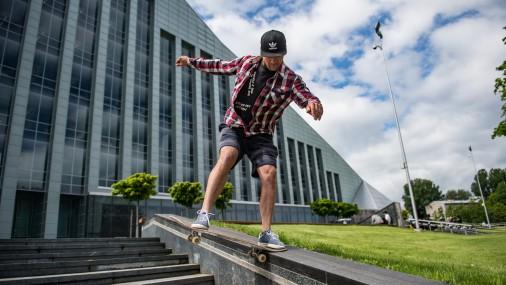 Летний сезон скейтбординга открыт