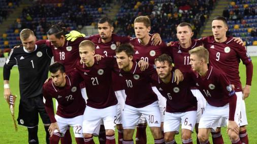 Latvijas futbola izlase gūst četrus vārtus un sagrauj Andoru