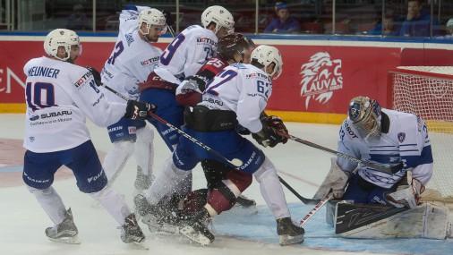 Проверочная игра Латвия-Франция