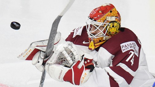 Pasaules čempionāta spēle hokejā: Latvija - Krievija