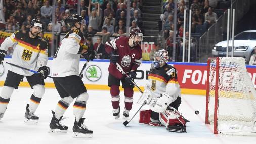 Pasaules čempionāta spēle hokejā: Latvija - Vācija