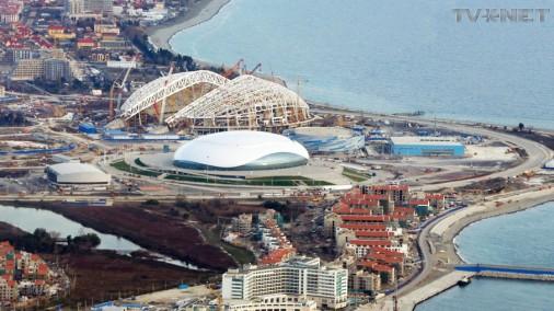 Soču olimpiskās celtnes