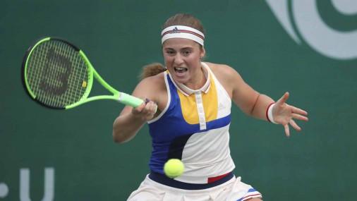 Sacensību favorīte Ostapenko pārvar pirmo kārtu turnīrā Dienvidkorejā