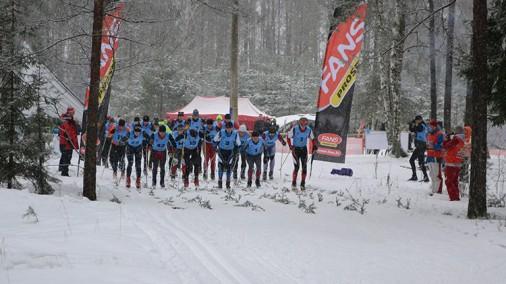 Эстафета по дистанционному лыжному забегу 2013