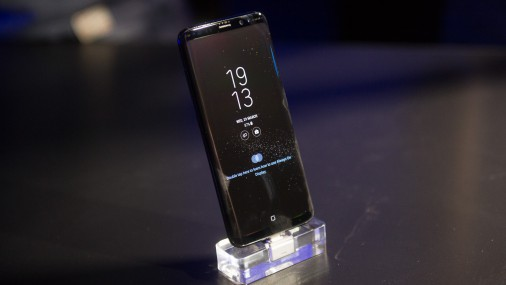 Samsung prezentē savus jaunākos Galaxy viedtālruņus - S8 un S8+