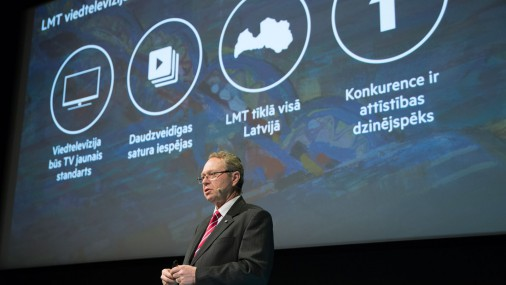 LMT mājas televīzijas prezentācija