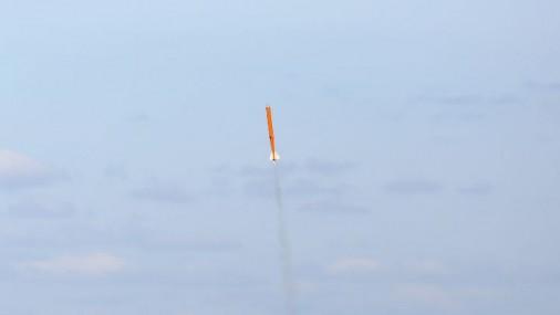 На летном поле Цесиса испытали ракету