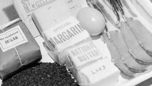 Продовольственные ограничения в Великобритании во время Второй мировой войны
