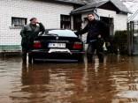 Plūdu skartā Ogres teritorija