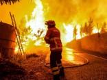 Mežu ugunsgrēki Portugālē: desmitiem bojāgājušo un bezvēsts pazudušo