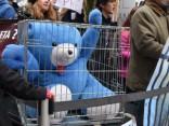 Protests pret  savvaļas dzīvnieku izmantošanu cirkā pie Saeimas