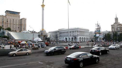 Украина - год с возобновления протеста на Майдане