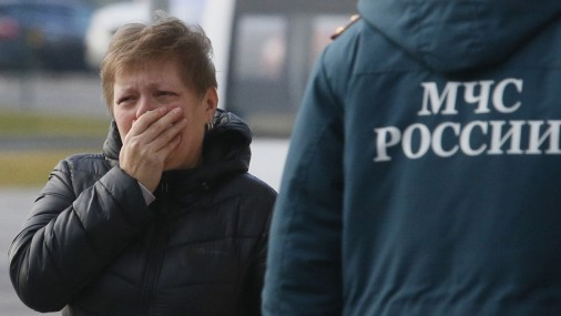 """В аэропорту """"Пулково"""" родственники не дождались самолета из Египта"""