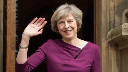 Новый премьер-министр Великобритании Тереза Мей