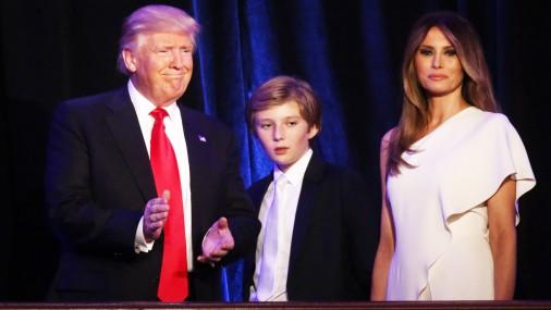 Триумфальное выступление Дональда Трампа