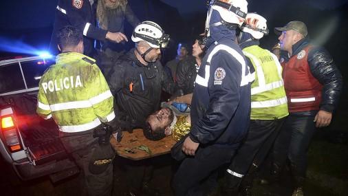Катастрофа самолета с 80 пассажирами в Колумбии