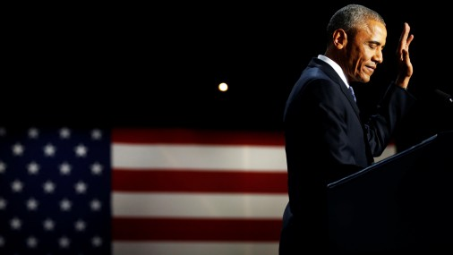 Obamas atvadu runa amerikāņiem
