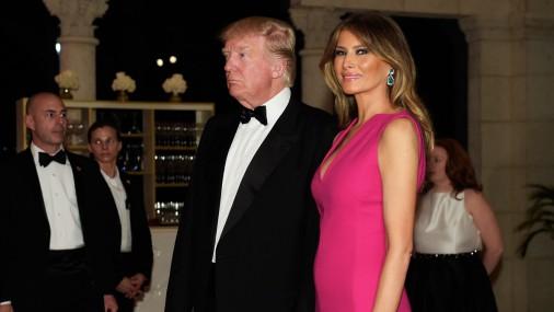 Жена Трампа Мелания снова появилась в обществе