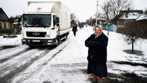 Суровые пейзажи Украины